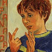 Oilver Twist Art Print
