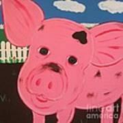 Oink Art Print