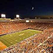 Oklahoma State Boone Pickens Stadium Under The Lights Art Print by Oklahoma State University