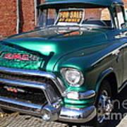 Old American Gmc Truck . 7d10665 Art Print