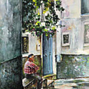 Old And Lonely In Spain 08 Art Print