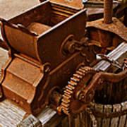 Old Apple Press 2 Art Print