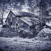Old Barn Art Print by Donald Schwartz