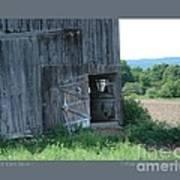 Old Barn Door-i Art Print