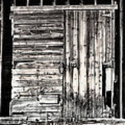 Old Barn Door Art Print