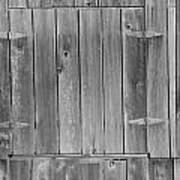 Old Barn Doors Art Print