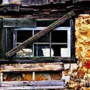 Old Barn Window 2 Art Print
