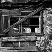 Old Barn Window Art Print
