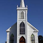 Old Bodega Church Art Print