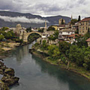 Old Bridge Of Mostar Art Print by Ayhan Altun