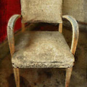 Old Chair Art Print