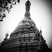 Old Chedi, Chiang Mai Art Print by Robsteerphotopgraphy