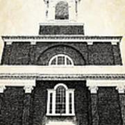 Old Church In Boston Art Print