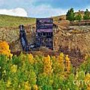 Old Cripple Creek Mine Art Print