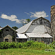 Old Dairy Barn 2 Art Print