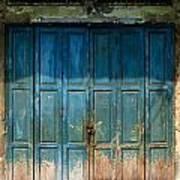 old door in China town Art Print