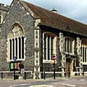 Old English Church Uxbridge Uk Art Print