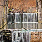 Old Erie Canal Locks Art Print