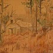 Old Farm Art Print