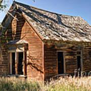 Old Farm Homestead - Woodland - Utah Art Print