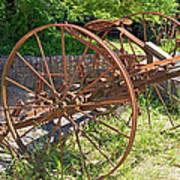 Old Farm Machine 3 Art Print
