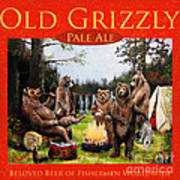 Old Grizzly Pale Ale Art Print