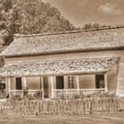 Old House In The Cove Art Print