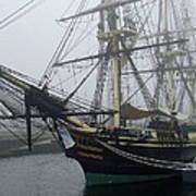 Old Massachusetts Sailing Ship Art Print
