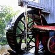 An Old Mill Art Print