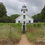 Old Mission Point Lighthouse Art Print