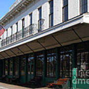 Old Pacific Hotel . San Jose California . 7d13019 Art Print