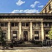 Old Post Office Morgantown Wv Art Print
