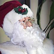 Old Santa Claus Art Print