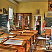 Old School II Print by Diego Re