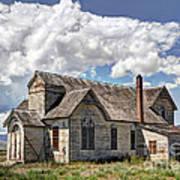 Old Schoolhouse - Ovid - Idaho Art Print