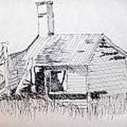 Old Shed Art Print by Rod Ismay