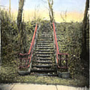 Old Stairs Art Print