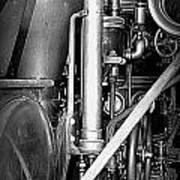 Old Steam Art Print