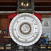 Old Steam Locomotive Engine 5 . The Little Buttercup . 7d12920 Art Print