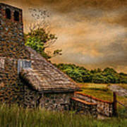 Old Stone Countryside Art Print