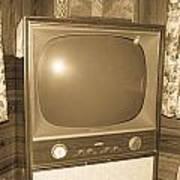 Old Television Art Print by Shannon Harrington