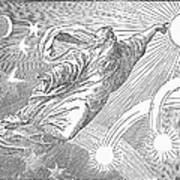 Old Testament: God Art Print