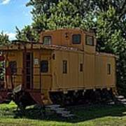 Old Time Caboose Art Print