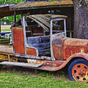 Old Timer Art Print by Garry Gay