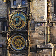 Old Town Hall Clock Art Print