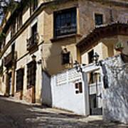 Old Town In Ronda Art Print