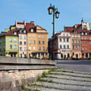 Old Town In Warsaw Art Print