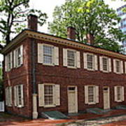 Old Town Philadelphia Brownstone House Art Print