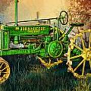 Old Tractor Art Print