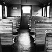 Old Train Compartment Art Print by Falko Follert